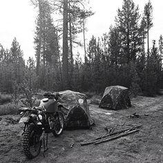 Poler one-man tents in camo.   #poler #polerstuff #campvibes