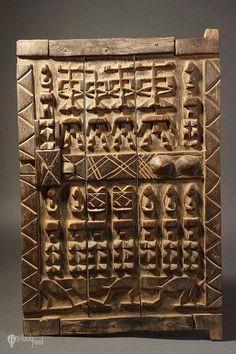 Granary Door, Dogon, Mali, Africa