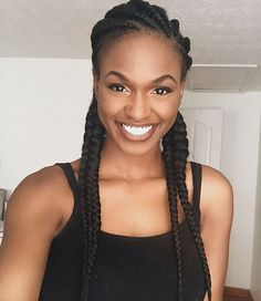Long Box Braids: 67 Hairstyles To Upgrade Your Box Braids - Hairstyles Trends Big Box Braids, Braids Wig, Black Girl Braids, Girls Braids, African Braids Hairstyles, Weave Hairstyles, Natural Hair Styles, Short Hair Styles, Breaking Hair