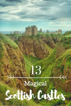 Magical Scottish Castles You Should Visit on Your Scotland Holiday Magical Castles of Scotland. Europe is full of beautiful castles but none as magical as the ones you will find in Scotland. Come discover 13 magical Scottish castles. Scotland Road Trip, Scotland Vacation, Scotland Travel, Ireland Travel, Visiting Scotland, Perth Scotland, Scotland Hiking, Inverness Scotland, Glasgow Scotland