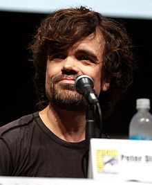 The Game of Thrones character I'd most like hanging out with. Peter Dinklage- wiki