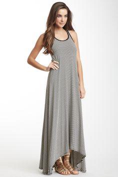 Striped Hi-Lo Maxi Dress Mackayla I like this dress. Do you like it?
