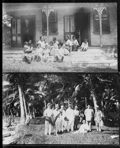 Ref: Herman John Schmidt, Olaf Frederick Nelson photos, Safune, Savai'i, c. 1910s, Sir George Grey Special, Auckland Libraries, 31-2600