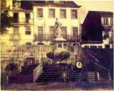 Lisboa de Antigamente: Chafariz das Janelas Verdes