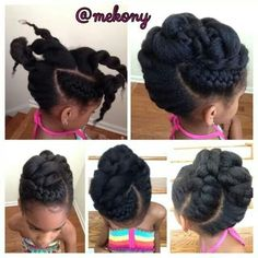 Updo Go to www.naturalhairki... to see more tips, posts and pics like this…