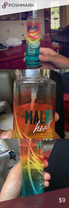 Malibu heat mist Used only a tiny bit Accessories