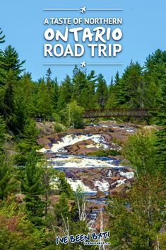 Looking to get a taste of true Canadian beauty? Get a dose of nature on a great Northern Ontario road trip with this itinerary. Full of tips, tricks & more! Alberta Canada, Canada Ontario, Canada Eh, Visit Canada, Canada Travel, Travel Usa, Vancouver, Ontario Travel, Ontario Camping