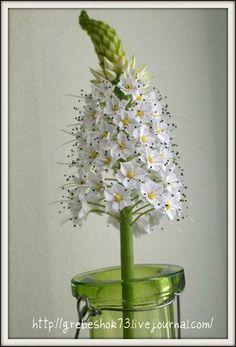 Cold Porcelain or Gum Paste Flowers Sugar Paste Flowers, Icing Flowers, Fondant Flowers, Edible Flowers, Diy Flowers, Fabric Flowers, Paper Flowers, Fondant Flower Tutorial, Lovely Tutorials