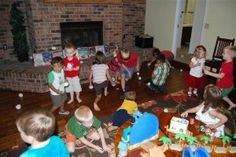 """""""christmas in july gift exchange, ask everybody to bring a gift from the dollar section at target"""" My kids love Christmas in July parties!!! Especially the cartoons and Christmas themed snacks. It's a great way to celebrate summer!"""