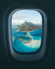 Plane Photography, Tumblr Photography, Beautiful Photos Of Nature, Pretty Photos, Bora Bora French Polynesia, World Images, Top Destinations, Travel Info, Travel Posters