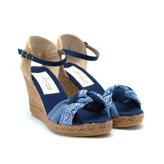 GAIMO Galgo High Wedge Espadrilles | Spanish Fashion - SPANISH SHOP ONLINE | Spain @ your fingertips #gaimo #espadrilles