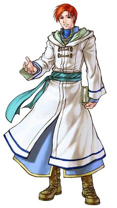 Rhys (FE: Path of Radiance/Radiant Dawn) I like his character and personality.