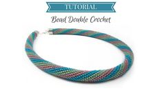 Excellent tutorial on bead double crochet. From start to finish.