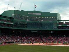 Fenway park. Red Sox suck, but its a baseball stadium