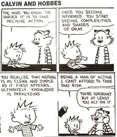 calvin and hobbes | Calvin and Hobbes: A Dose of Wit and Wisdom | A BookLover's Diary