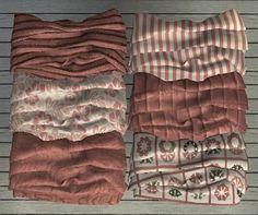 Dustyrose MixNMatch - Jonesi Bed blanket recols