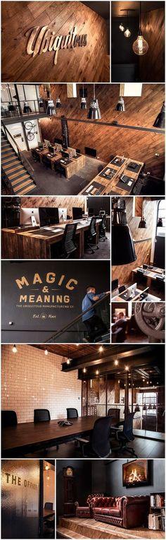 Office interior decoration. The Ubiquitous Manufacturing Company - www.ubiquitous.co.uk / @ubiquitousmfg