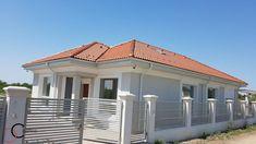 Proiect casa rezidentiala Corbeanca 3 – Profile Decorative Village House Design, Village Houses, Design Case, Garage Doors, Exterior, Outdoor Decor, Homes, Patterns, Home Decor