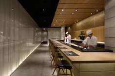Grill & Sushi Bar by GATE interior design office, Shanghai » Retail Design Blog