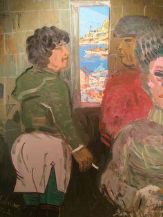 """Edward Dwurnik """"Southern seas"""" 1974–1983"""