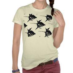 schwarze Rosen, Shirt für Frauen