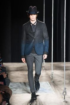 two toned #suit #JohnVarvatos Men's A/W '13
