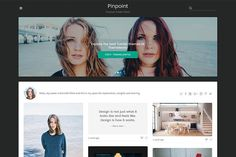 Pinpoint Tumblr Theme by Themelantic on @creativemarket