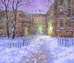 Painying by Dmitry Kustanovich