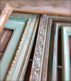Always plenty of painted frames at Zen Cowgirl!