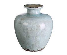 Jarrón en cerámica craquelada II