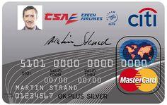 Czech Airlines   MasterCard OK PLUS MEMBER Silver    Citibank Czech Republic