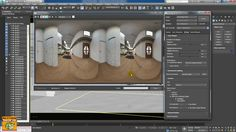 Iray + 1 3 Stereo Combined in 3ds max 2017