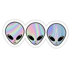Holo Aliens Sticker Stickers Cool, Cute Laptop Stickers, Tumblr Stickers, Printable Stickers, Snapchat Logo, Snapchat Stickers, Holo Wallpapers, Image Tumblr, Wallpaper Stickers