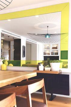 La deliciosa reforma integral de un dúplex - Decorabien.com #comedor #casa #hogar #diseño #decoración #sofal #estilo #sobrio #reforma #arquitectura #piso #céntrico #barcelona