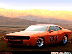 Dodge Charger General Lee Concept based on new Dodge Challenger. Awesome American Muscle Car!