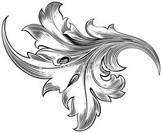 A delicate hand-drawn leaf engraving .- A delicate hand-drawn leaf engraving .This is a vector illutration… – A delicate hand-drawn leaf engraving .This is a vector illutration… – - Leather Carving, Leather Art, Leather Design, Tooled Leather, Custom Leather, Handmade Leather, Leather Jewelry, Leather Tooling Patterns, Leather Pattern
