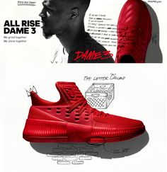 on sale 3af86 13ec6 WATCH  Sneaker Review  Adidas Dame 3  Roots   Dame3