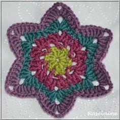 Beyond the Square Crochet Motifs, Edie Eckman Motif n°49