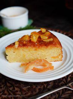 Sticky Orange Marmalade Cake on notjustspice.com