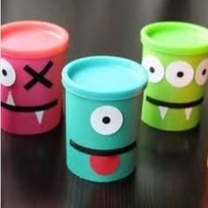 CUTE monster party favors