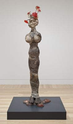 Installation view of Alina Szapocznikow: Sculpture Undone, 1955-‐1972, Hammer Museum,     Los Angeles, February 2012. Photography by Brian Forrest.
