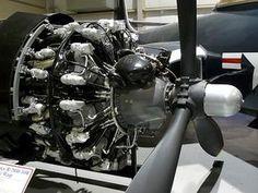 Pratt & Whitney Radial Engine at the New England Air Museum Aircraft Engine, Ww2 Aircraft, Military Aircraft, Jet Engine, Plane Engine, Grumman F6f Hellcat, Radial Engine, P 47 Thunderbolt, Planes