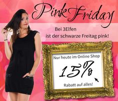 Heute heißt es bei uns: Pink Friday Alarm Formal Dresses, Pink, Fashion, Fashion Styles, Black Friday, Dresses For Formal, Moda, Formal Gowns, Black Tie Dresses