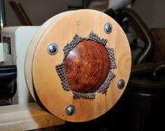 Simple Donut Chuck | Three Seasons Woodturning Woodturning Tools, Lathe Tools, Wood Tools, Wood Turning Lathe, Wood Turning Projects, Lathe Accessories, Woodshop Tools, Lathe Projects, Wood Projects