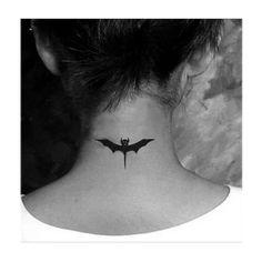 Batman bat Tattoo WM040 ❤ liked on Polyvore featuring accessories, body art and tattoos