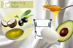 All-Natural Hair Mask Recipes: Softening Mask