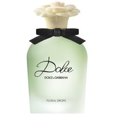 Dolce & Gabbana Dolce Floral Drops balances the wonderful dewiness of water lily and neroli—derived from the blossoms of bitter orange trees—with a fresh hit of white amaryllis. Dolce & Gabbana Dolce Floral Drops, $152, saks.com. -Wmag