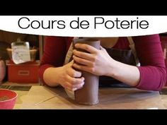 Technique de fabrication d'un vase à la plaque - YouTube
