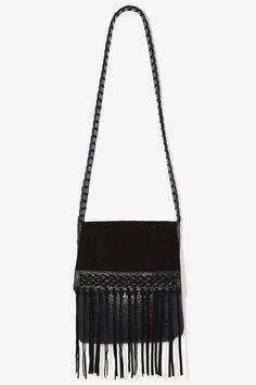 Nasty Gal x Nila Anthony Blowin' in the Wind Fringe Bag