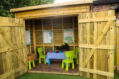 Backyard Play Areas | St Matthew's Stretton Pre-School Group - Outdoor Play Area
